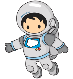 astronaut floating in space clipart - photo #27